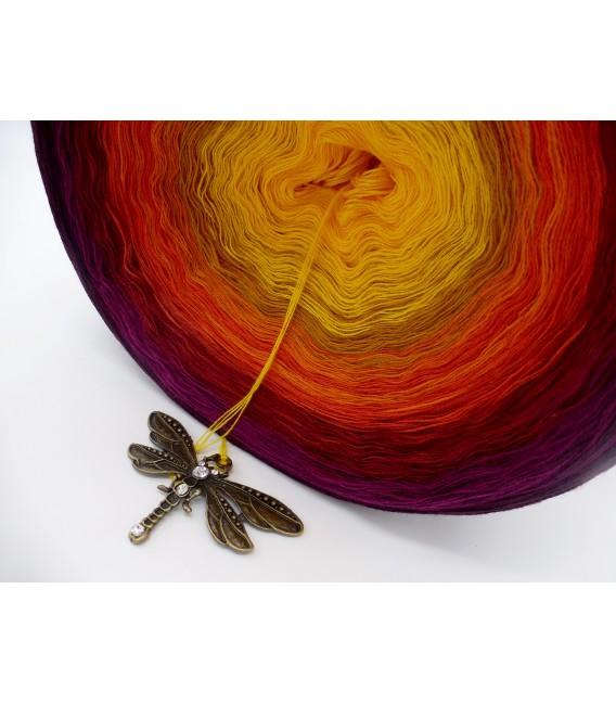 Sonne des Südens Megabobbel - Farbverlaufsgarn 4-fädig - Bild 7