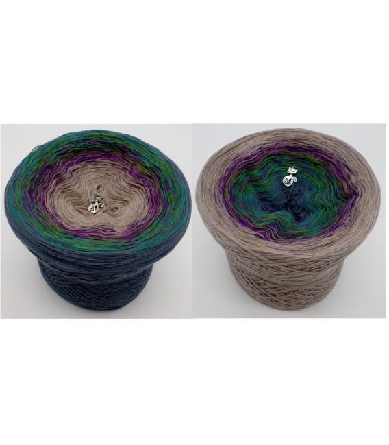 Pfauenauge - Farbverlaufsgarn 4-fädig - Bild 1