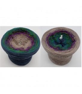 Pfauenauge - 4 fils de gradient filamenteux