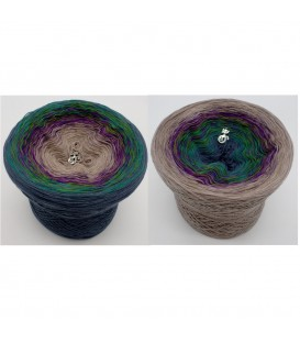 Pfauenauge - 4 ply gradient yarn