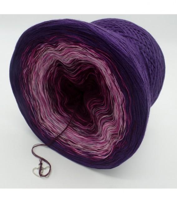 gradient yarn 4ply Herzklopfen - Chianti outside