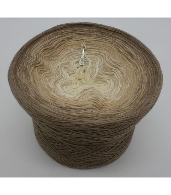 gradient yarn 4ply Sandelholz - Cream outside