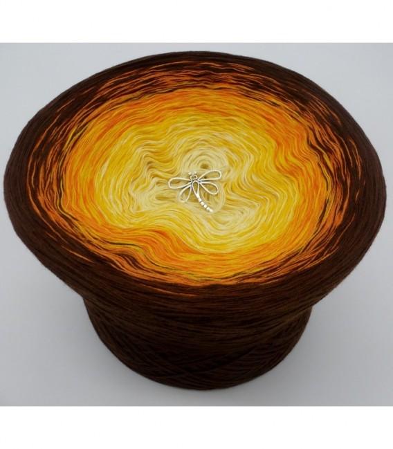 Wüstenblume (Desert flower) - 4 ply gradient yarn - image 6