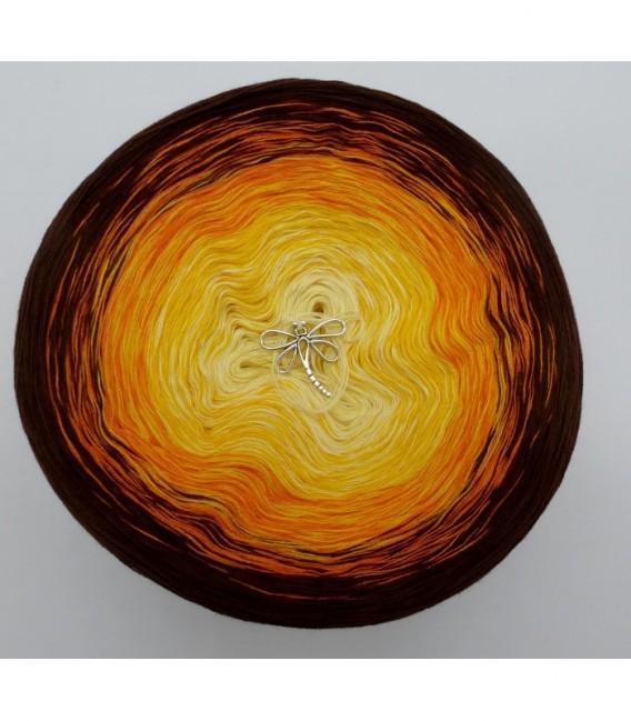 Wüstenblume (Desert flower) - 4 ply gradient yarn - image 7