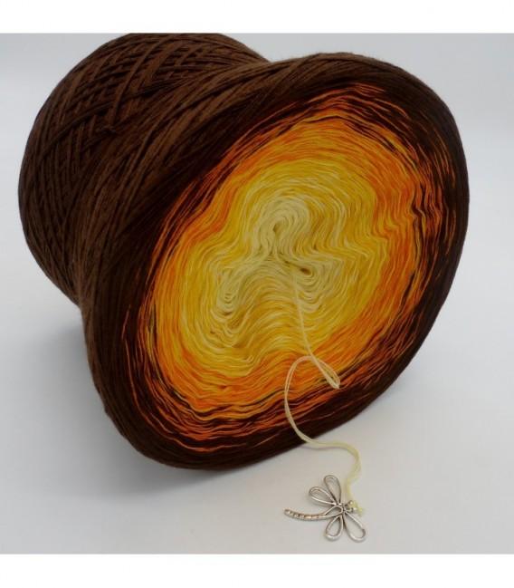 gradient yarn 4ply Wüstenblume - Vanilla outside