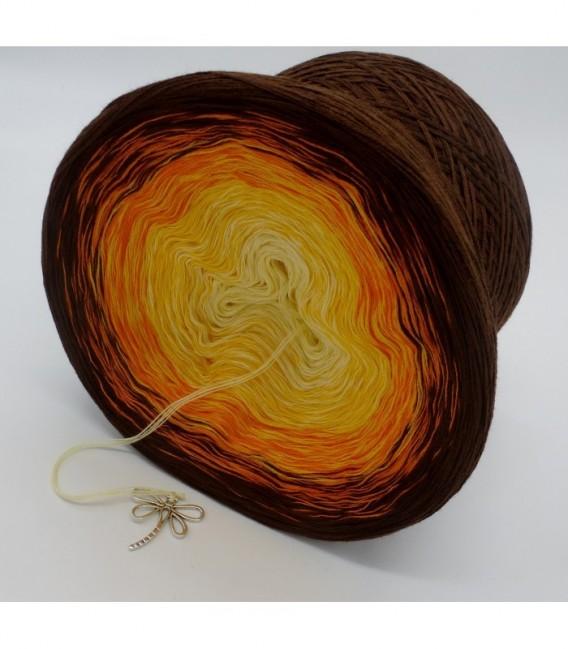 Wüstenblume (Desert flower) - 4 ply gradient yarn - image 9