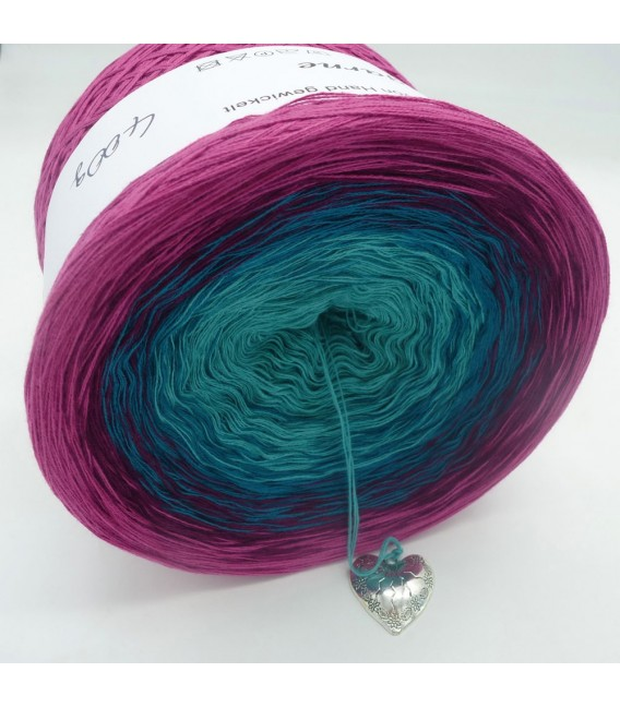 Ozean der Rosen (Ocean of roses) - 4 ply gradient yarn - image 5