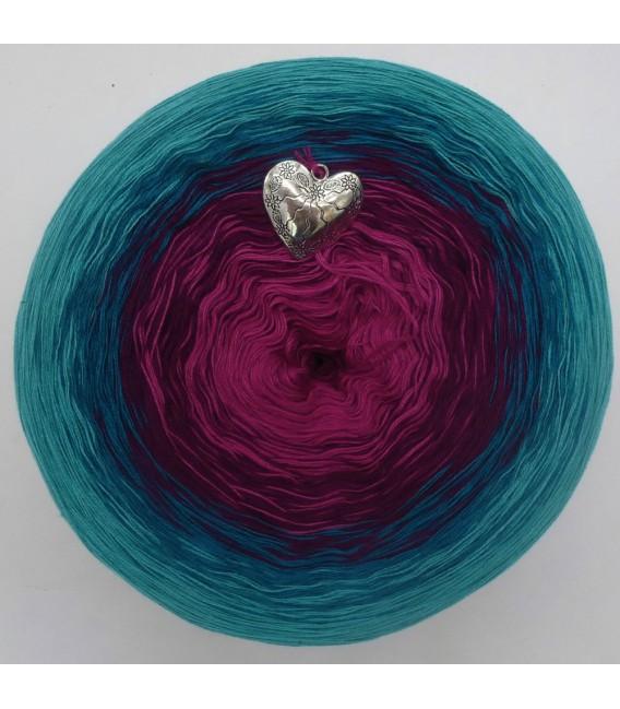 Ozean der Rosen - Farbverlaufsgarn 4-fädig - Bild 7
