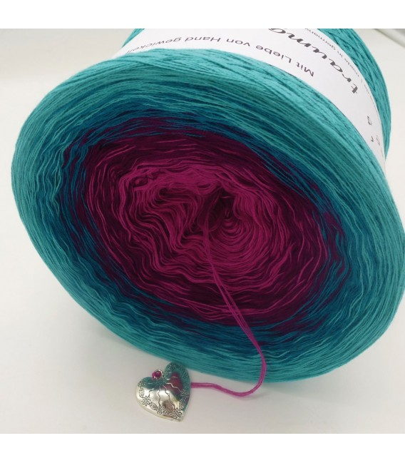 Ozean der Rosen - Farbverlaufsgarn 4-fädig - Bild 8