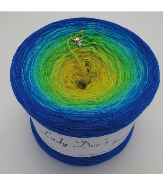 Tropensonne (tropical sun) - 4 ply gradient yarn - image 2
