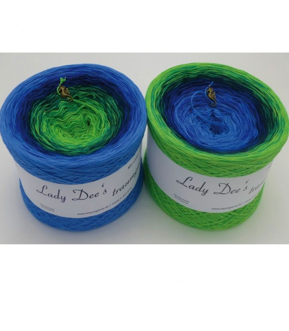Tal des Lebens (Valley of life) - 4 ply gradient yarn - image 1