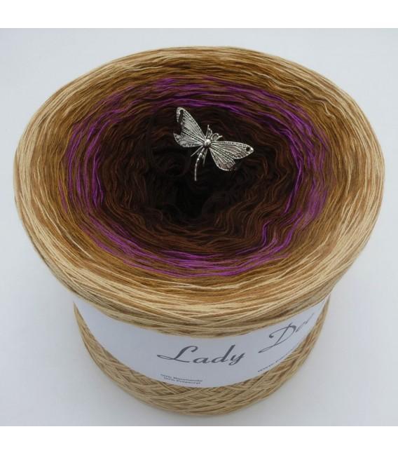 Farbklecks in Oleander - Farbverlaufsgarn 4-fädig - Bild 2