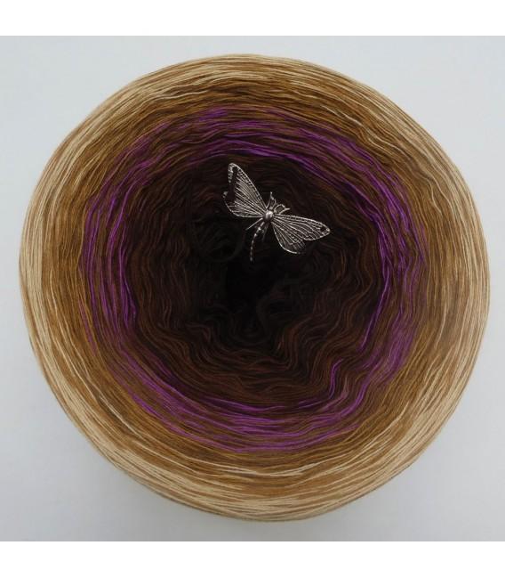 Farbklecks in Oleander - Farbverlaufsgarn 4-fädig - Bild 3