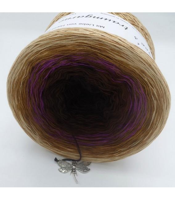 Farbklecks in Oleander - Farbverlaufsgarn 4-fädig - Bild 4