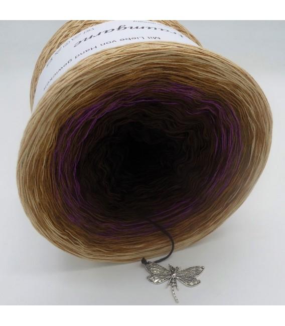 Farbklecks in Oleander - Farbverlaufsgarn 4-fädig - Bild 5
