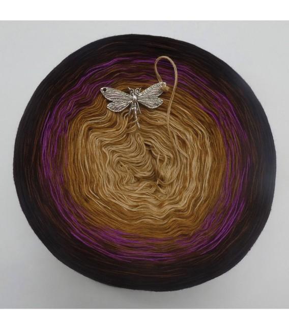 Farbklecks in Oleander - Farbverlaufsgarn 4-fädig - Bild 7