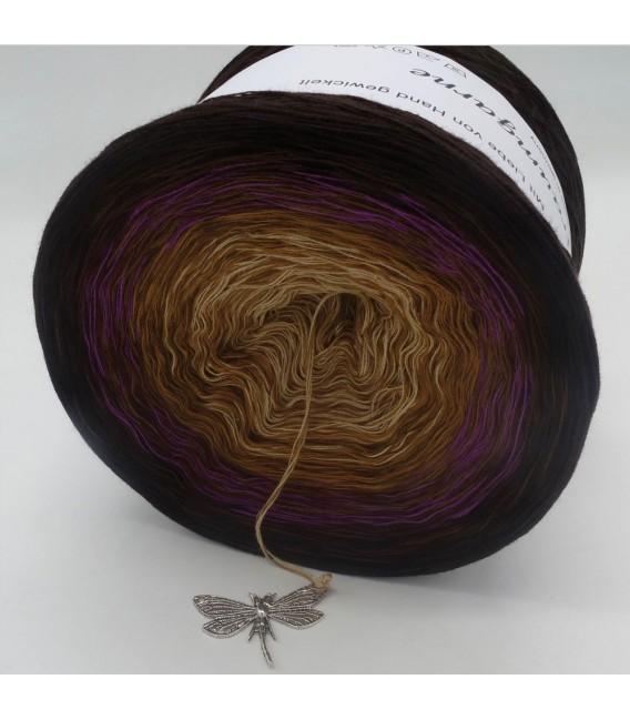 Farbklecks in Oleander (Color blob in oleander) - 4 ply gradient yarn - image 8