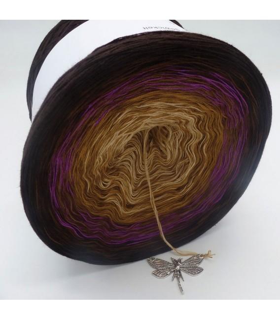 Farbklecks in Oleander (Color blob in oleander) - 4 ply gradient yarn - image 9