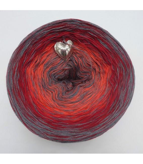 Edelchen in Rot - Farbverlaufsgarn 4-fädig - Bild 2