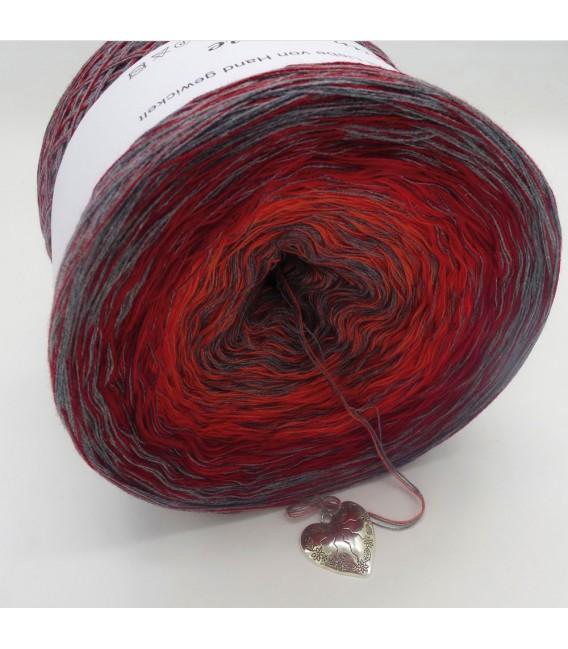 Edelchen in Rot - Farbverlaufsgarn 4-fädig - Bild 4