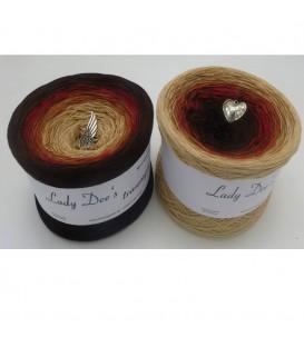 Farbklecks in Rot (Цветная капля в красный) - 4 нитевидные градиента пряжи - Фото 1