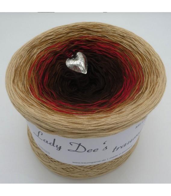 Farbklecks in Rot (Цветная капля в красный) - 4 нитевидные градиента пряжи - Фото 2