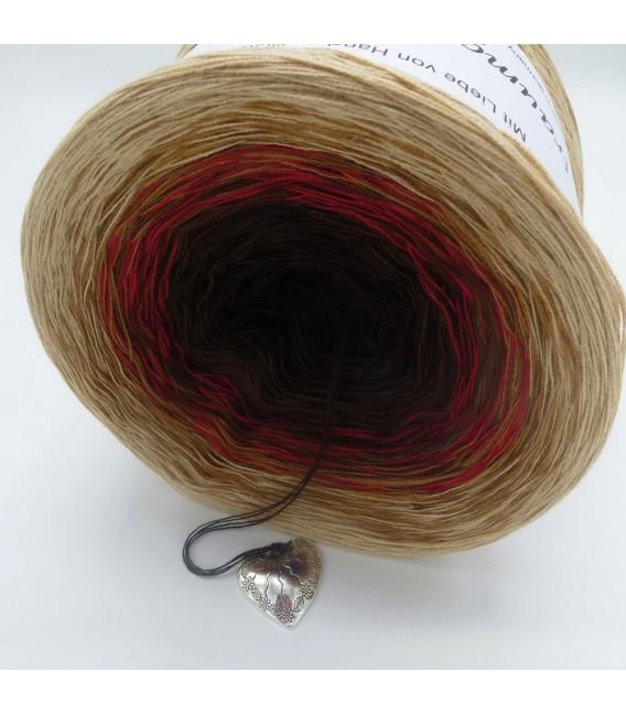 Farbklecks in Rot (Blob de peinture dans le rouge) - 4 fils de gradient filamenteux - Photo 4