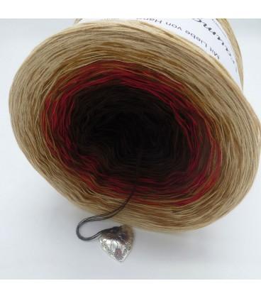 Farbklecks in Rot (Цветная капля в красный) - 4 нитевидные градиента пряжи - Фото 4