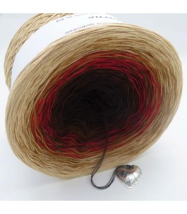 Farbklecks in Rot (Цветная капля в красный) - 4 нитевидные градиента пряжи - Фото 5