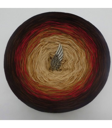 Farbklecks in Rot (Цветная капля в красный) - 4 нитевидные градиента пряжи - Фото 7