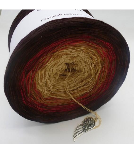 Farbklecks in Rot (Цветная капля в красный) - 4 нитевидные градиента пряжи - Фото 9
