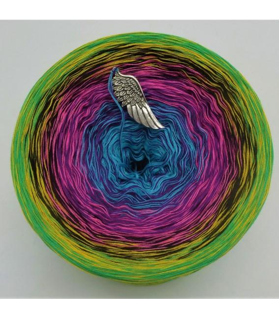 Sommerbunt mit Schwarz (Été coloré avec du noir) - 4 fils de gradient filamenteux - photo 7