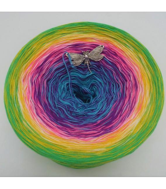 Sommerbunt mit Schwarz (Été coloré avec du blanc) - 4 fils de gradient filamenteux - photo 7