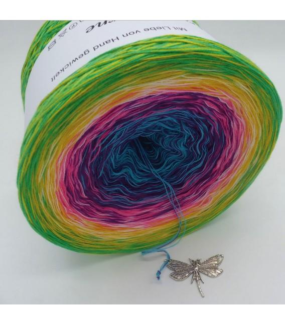 Sommerbunt mit Weiss - Farbverlaufsgarn 4-fädig - Bild 9