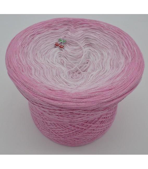 Kirschblüten - Farbverlaufsgarn 4-fädig - Bild 6