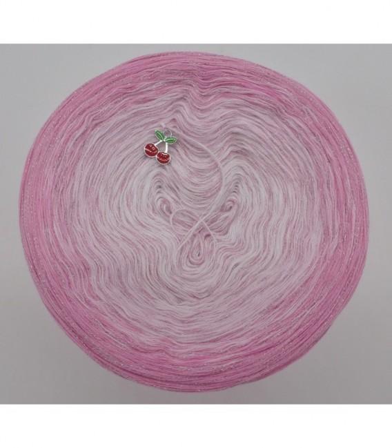 Kirschblüten - Farbverlaufsgarn 4-fädig - Bild 7