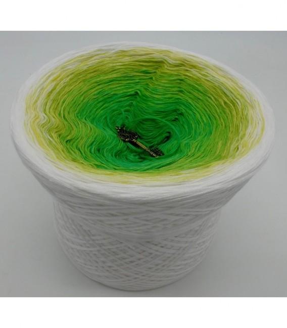 Lemongras - Farbverlaufsgarn 4-fädig - Bild 6