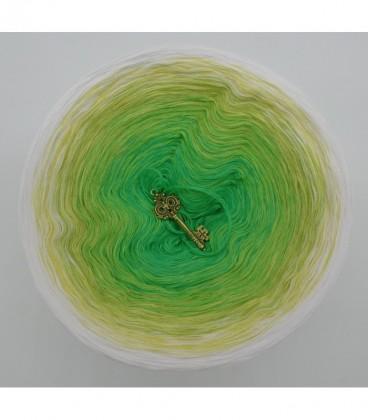 Lemongras - Farbverlaufsgarn 4-fädig - Bild 7