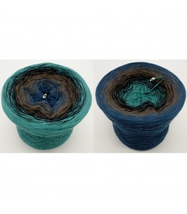 Cowboy - 4 ply gradient yarn