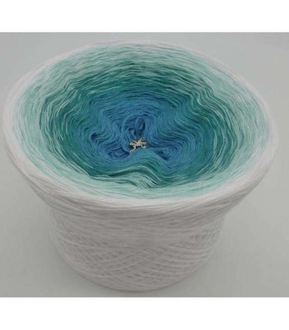 Aquamarin (аквамарин) - 4 нитевидные градиента пряжи - Фото 6