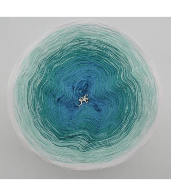 Aquamarin (аквамарин) - 4 нитевидные градиента пряжи - Фото 7