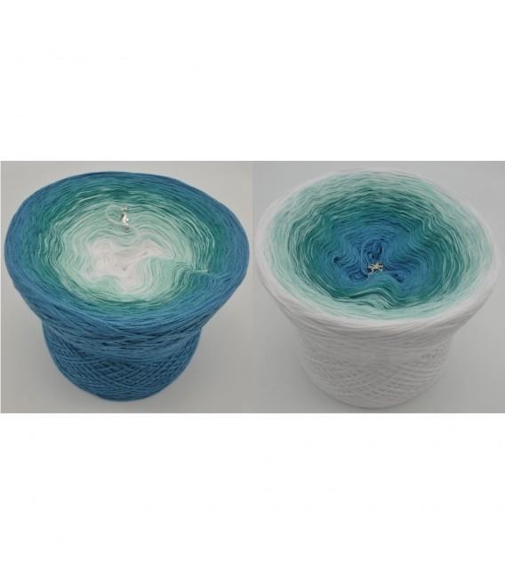 Aquamarin - Farbverlaufsgarn 4-fädig - Bild 1