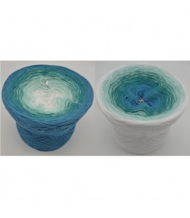 Aquamarin - Farbverlaufsgarn 4-fädig