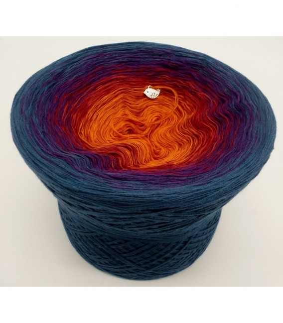 gradient yarn 4-ply Freiheit - Cognac outside