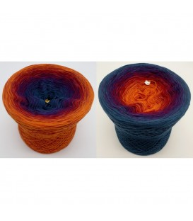 Freiheit - 4 ply gradient yarn