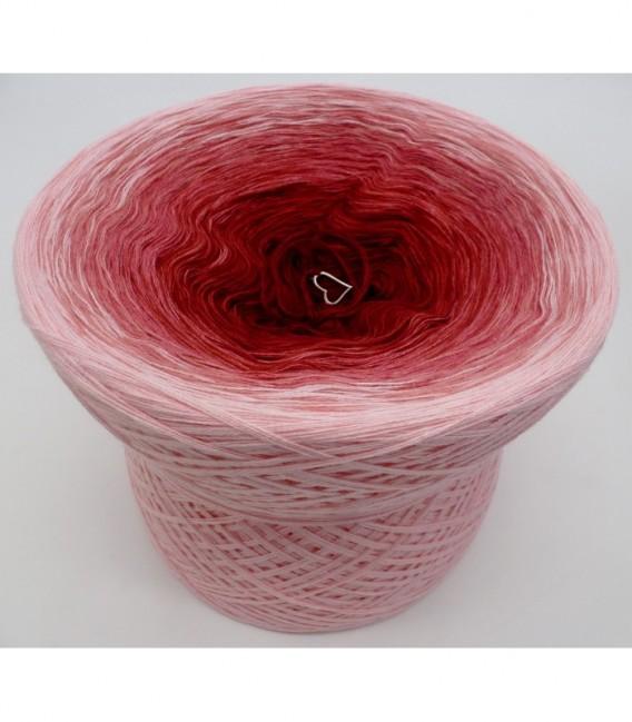 Rosenrot (розы красный) - 4 нитевидные градиента пряжи - Фото 6