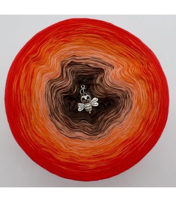 Feuerkelch - Farbverlaufsgarn 4-fädig - Bild 7