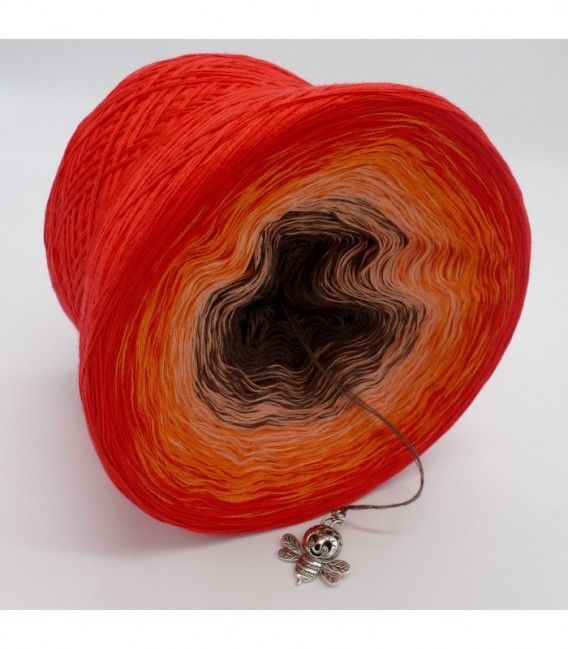 Feuerkelch (Goblet of fire) - 4 ply gradient yarn - image 8