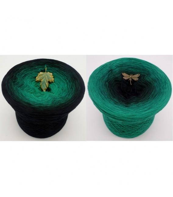 Dark Forest - 4 ply gradient yarn - image 1