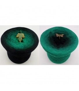 Dark Forest - 4 ply gradient yarn - image 1
